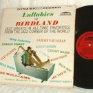 LULLABIES OF BIRDLAND LP Jazz Forum SF-9056 Various