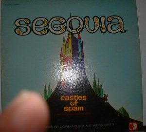 castles of spain / andres segovia dl710171