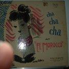 """cha cha cha at """"el morocco"""" / puente lp 1025 tico"""