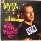 BRUCE WILLIS The Return Of Bruno LP Record 1987 RARE