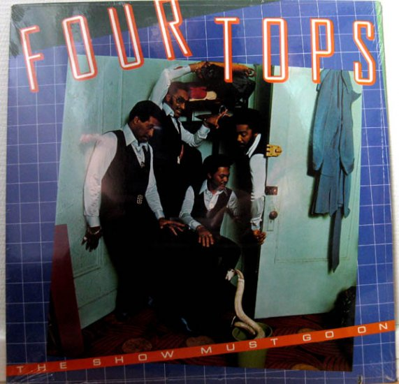 the show must go on / the 4 tops / ab-1014