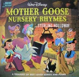 mother goose nursery rhymes / sterling holloway 1211