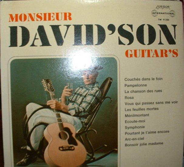 monsieur david'son guitar's/ tw91386