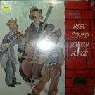 best loved jewish songs  / jan bart / rlp 8038