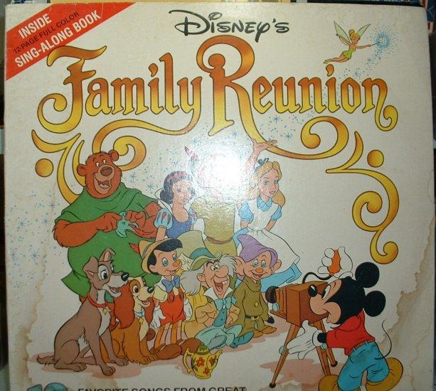 Disney's Family Reunion  (Disneyland 3516 LP)