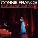 live at the sahara in las vegas connie francis / e 4411
