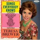 songs everybody knows teresa brewer / crl757361