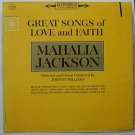 great songs of love and faith mahalia jackson / cl1824