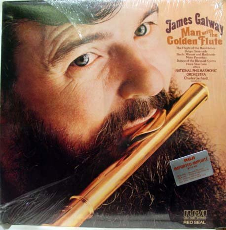 james galway man with the golden flute / lrl1-5094
