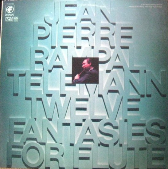 Jean-Pierre Rampal - Telemann: Twelve Fantasies For Flute