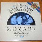 Mozart: The Flute Quartets / Rampal, Stern, Accardo Et Al
