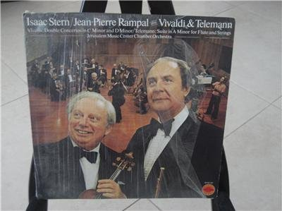 Isaac Stern [and] Jean-Pierre Rampal play Vivaldi & Teleman