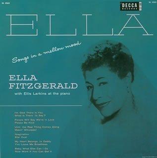 Songs In A Mellow Mood Ella Fitzgerald