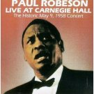 paul robeson at carnegie hall