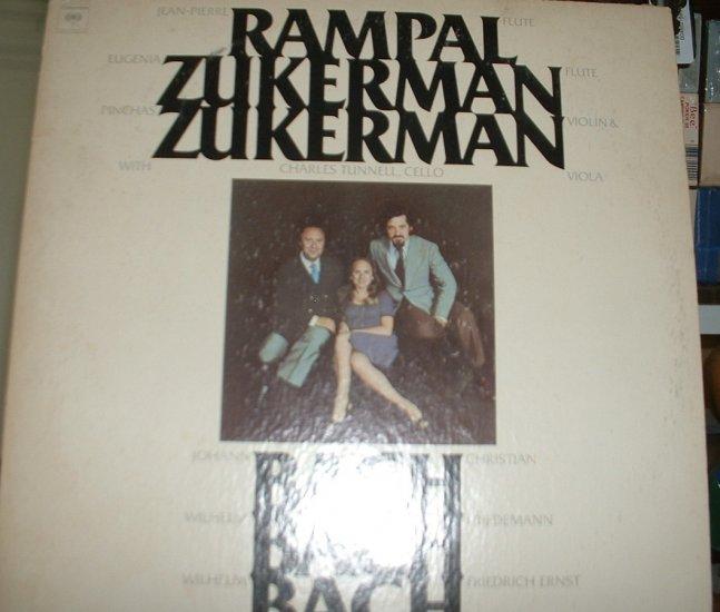 rampal zuckerman zuckerman /bach/ m33310