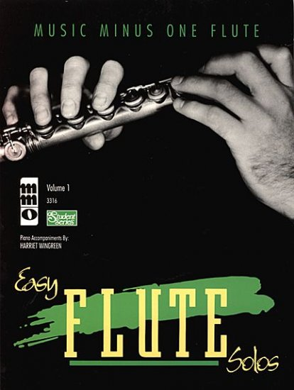 Easy Flute Solos: Beginning Students, vol. I