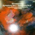 SHOSTAKOVICH Symphony No. 1 and Symphony No. 9.