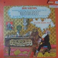 johannes brahms / walter klien piano / tv34165s