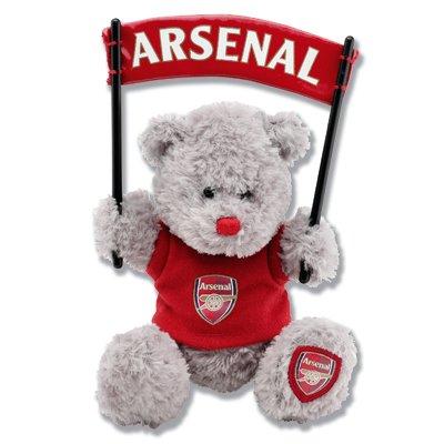 Arsenal Banner Bear