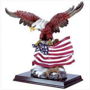 FLAG FLYING EAGLE #30840