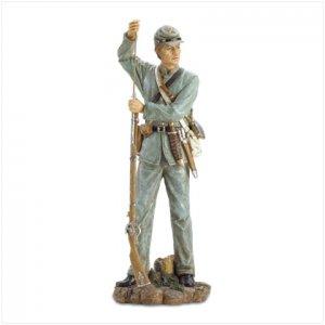 CONFEDERATE SOLDIER FIGURE #37165