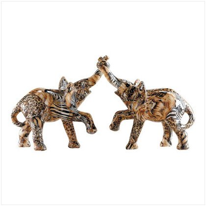 ENTWINED ELEPHANTS #31776