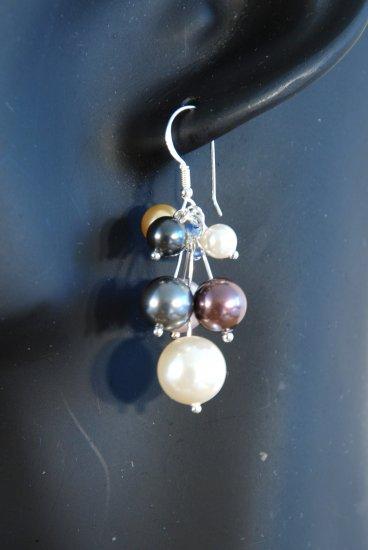 Designer fashion, bridal, prom crystal earrings jewelry, Swarovski Multiple Colours - EAR 0018