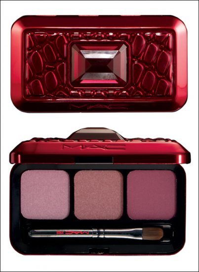 MAC Passions of Red 3 Plum Lips Palette