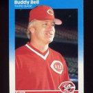 Cincinnati Reds 1987 Fleer Buddy Bell Team Set.