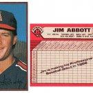 1989 Bowman Gum #39 Jim Abbott RC