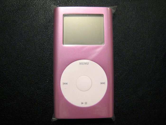 Apple iPod Mini Pink 4GB MP3 4 GB Player M9804LL/A