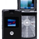 Motorola RAZR V3 Black Unlocked GSM Cell Phone