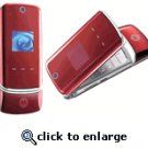 Motorola KRZR K1 Red Unlocked GSM Cell Phone