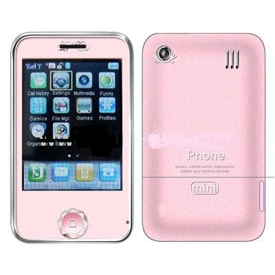 Mini Phone , Dual Sim cards Dual standby,Bluetooth function Touch Screen Cell phone A07