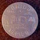 UNION PACIFIC TRAIN PULLMAN CAR TOKEN 1934