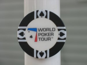WPT WORLD POKER TOUR POKER CHIP FRIDGE MAGNET STRONG! BLACK