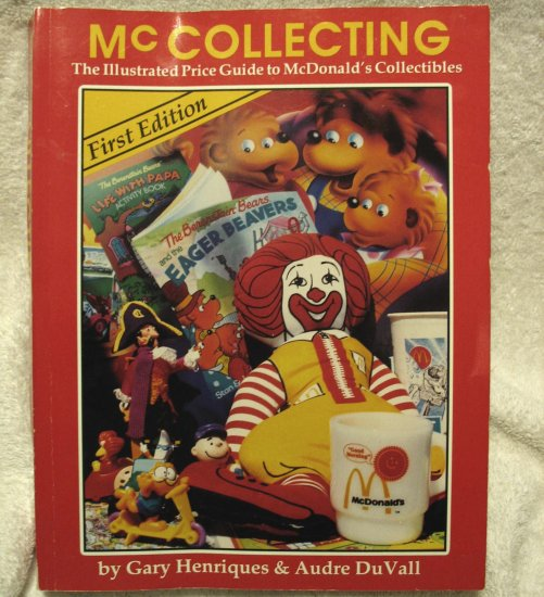 McCollecting Price Guide Book To McDonald's Collectibles