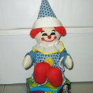 Ringling Bros & Barnum & Bailey Circus Plush Clown Doll Collectible 1981