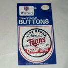 MN TWINS AL Baseball 1987 World Series Pinback Pin
