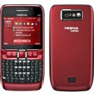 Nokia E63 GSM Quadband QWERTY Phone (Unlocked) Red