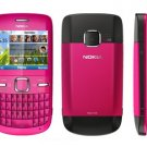 Nokia C3 GSM Quadband Phone (Unlocked) Hot Pink