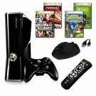 XBOX 360 Slim 4GB 4 Game Bundle with Accessories