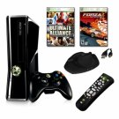XBOX 360 Slim 4GB 2 Game Bundle with Accessories