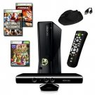 XBOX 360 Slim 4GB 3 Game Kinect Bundle with Accessories