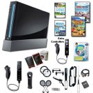 "Nintendo Wii Black ""Holiday Fun"" Bundle with..."