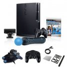 "Sony Playstation 3 320GB Move ""Mega Bundle""- Controller, Charger, and More"