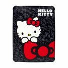 Hello Kitty KT4345B Polycarbonate Case for iPad- Black.