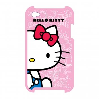Hello Kitty KT4478P Hello Kitty Polycarbonate Wrap for iPod Touch 4G.