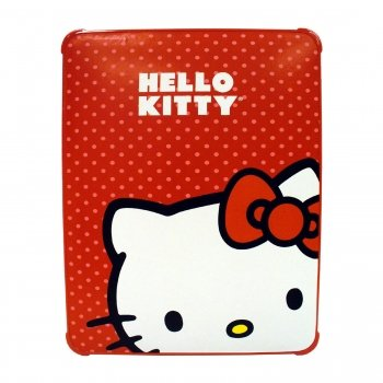 Hello Kitty KT4345R Polycarbonate Case for iPad- Red.
