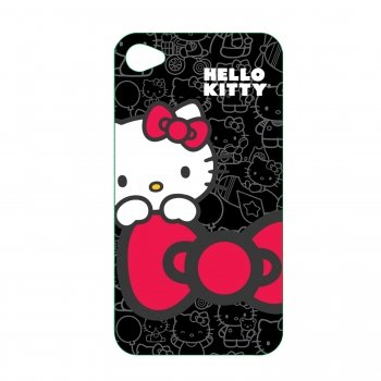Hello Kitty KT4488B4 Polycarbonate Wrap for iPhone 4.